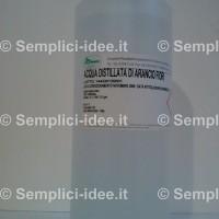 Acqua distillata di Fiori di Arancio