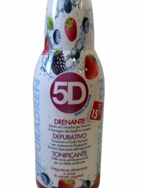 5D gusto Frutti di Bosco 500 ml